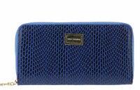 Кошелек синий лазер кожа Nina Farmina K 9285-119