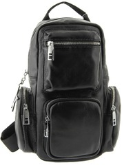 Рюкзак кожаный с карманами LMR 3117-1j