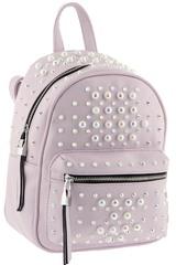 Рюкзак розовый с жемчугом B.Oalengi W 1504-5