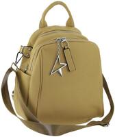 Рюкзак кожаный на два входа LMR 77295-8j